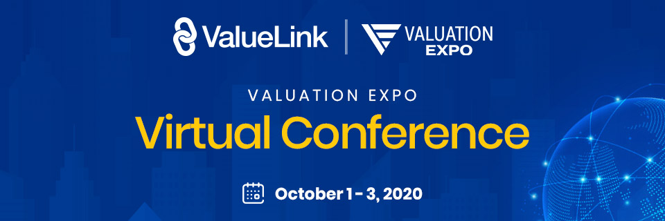Catch us at Valuation Expo Virtual Conference from October 1 – 3, 2020