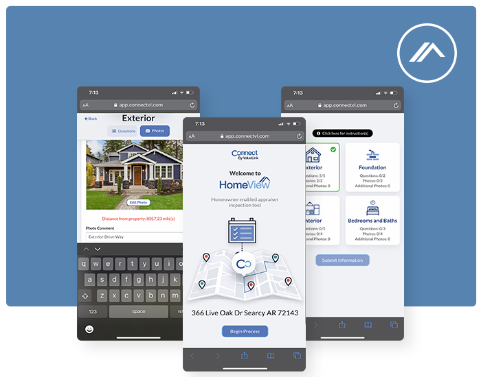 Home View: Virtual inspection tool