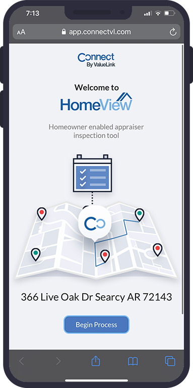 Homeowner appraisal inspection tool