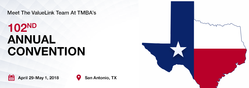 Meet the ValueLink Team at the TMBA's 102nd Annual Convention